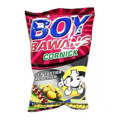 Boy Bawang Cornick Barbecue Flavor 100g