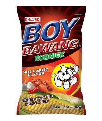 Boy Bawang Hot Garlic Flavor 100g