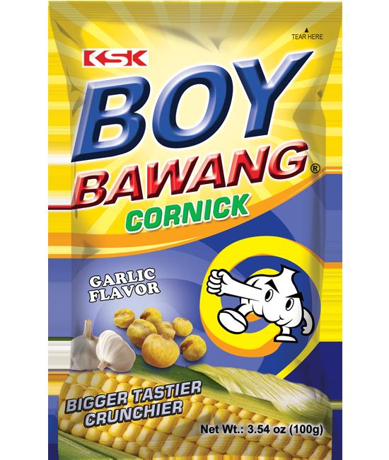 Boy Bawang Cornick Garlic Flavor 100g