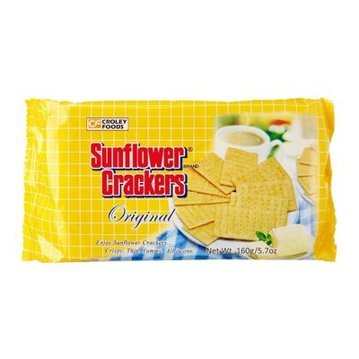 Croley Foods Sunflower Crackers Original