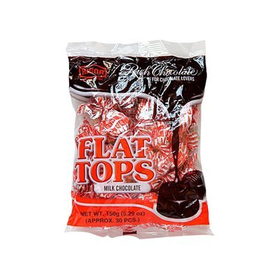 Flat Tops Milk Chocolate 150g