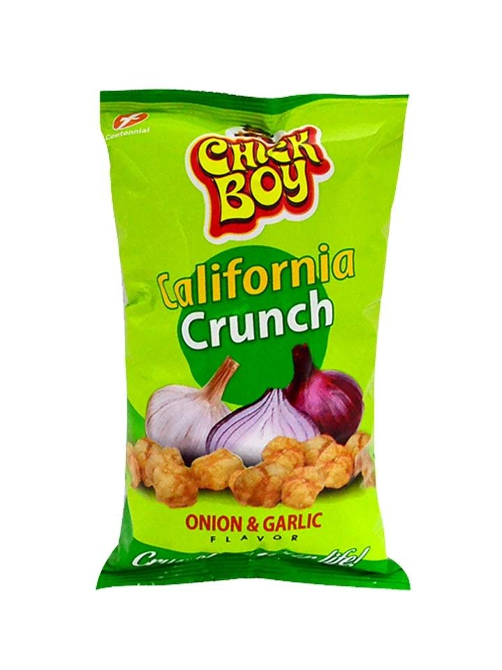Chick Boy California Crunch Onion & Garlic 100g