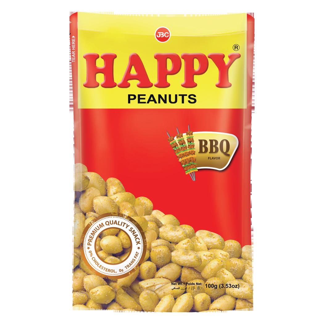 Happy Peanuts BBQ 100g