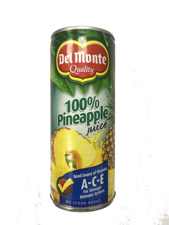 Del Monte 100% Pineapple Juice 240ml