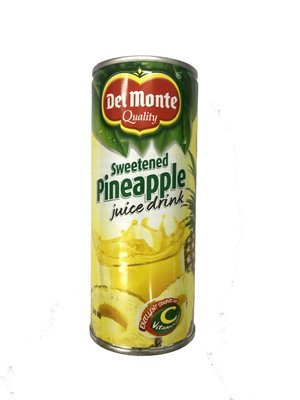 Del Monte Sweetened Pineapple Juice Drink 240ml