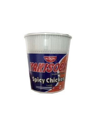 Nissin Yakisoba Instant Pancit Spicy Chicken 77g