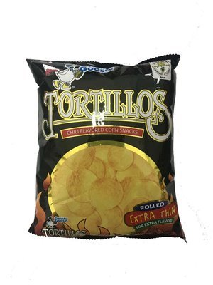 Granny Goose Tortillos Chili Flavored Corn Snacks 100g