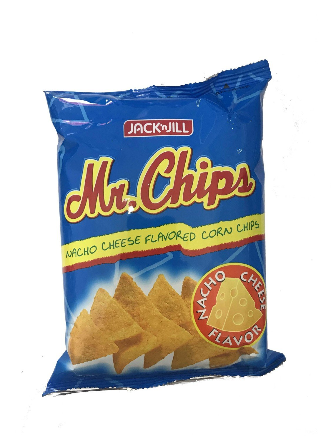 Mr Chips - Nacho Cheese Flavored Corn Chips 100g