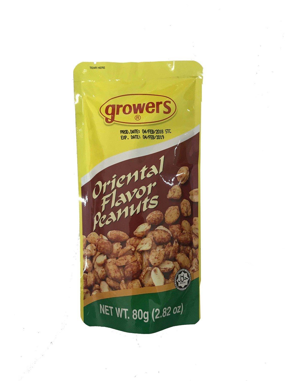 Growers Oriental Flavor Peanuts 80g