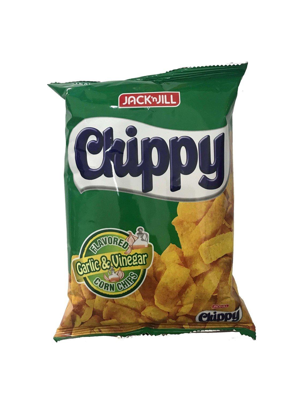 Chippy Flavored Garlic & Vinegar Corn Chips 110g