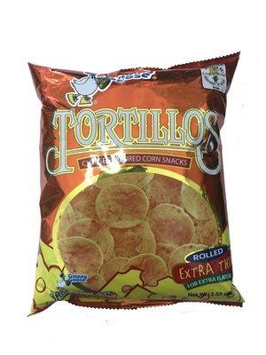 Granny Goose Tortillos Cheese Flavored Corn Snacks 100g