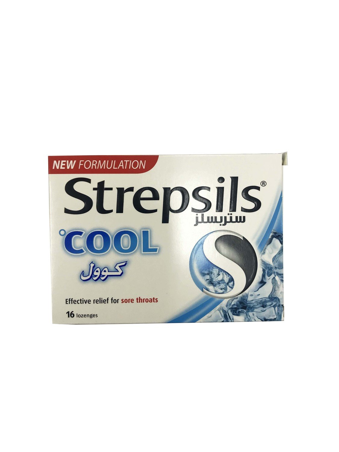 Strepsils Cool Effective Relief for Sore Throats