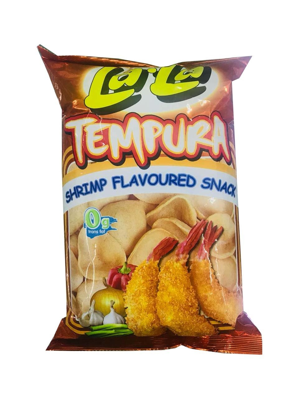 La-La Tempura Shrimp Flavoured Snack 100g