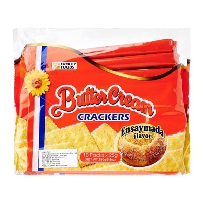 Buttercream Crackers Ensaymada Flavor 250g