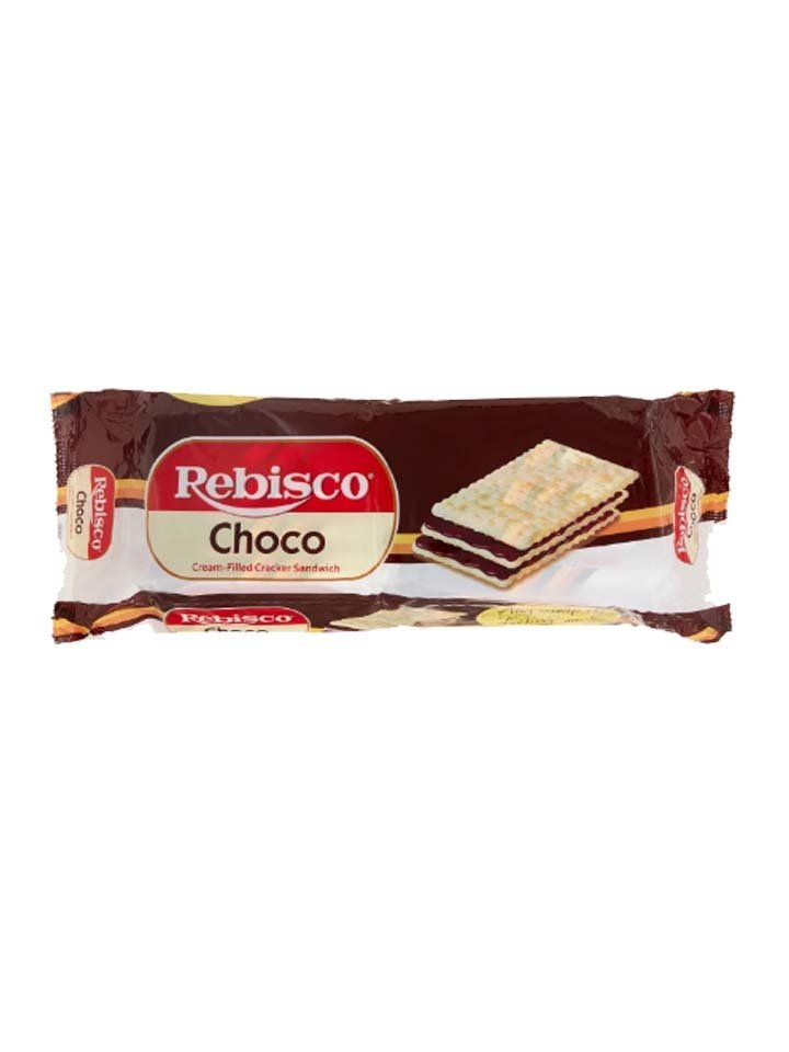 Rebisco Choco Cream Filled Cracker Sandwich