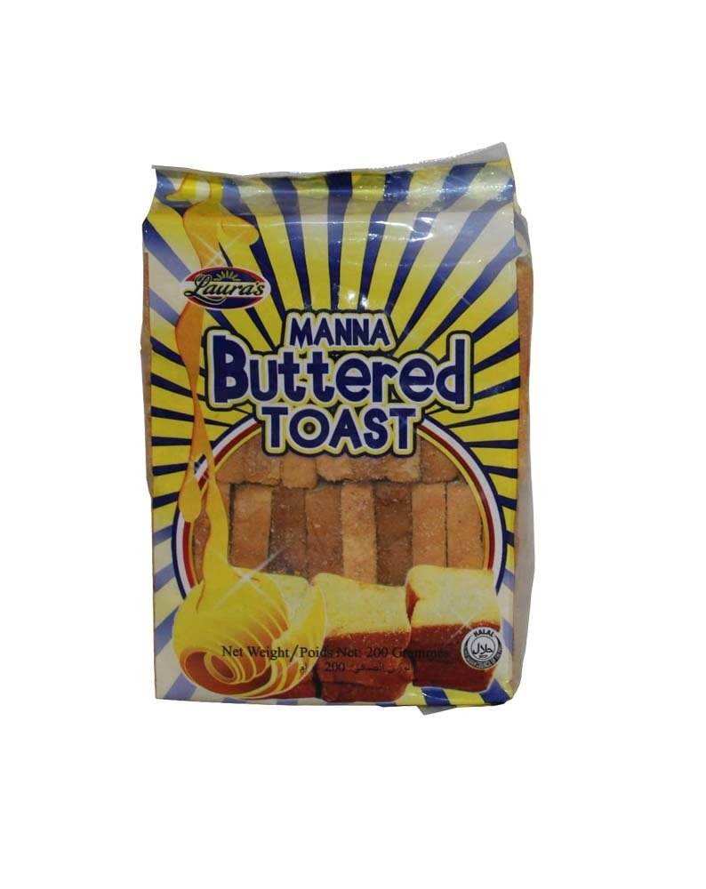 Laura's Manna Buttered Toast (Big)