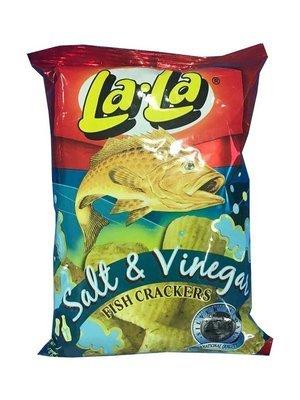 La-La Salt & Vinegar Fish Cracker 50g