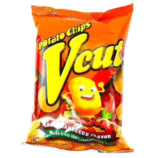Vcut Potato Chips Spicy Barbecue Flavor 60g