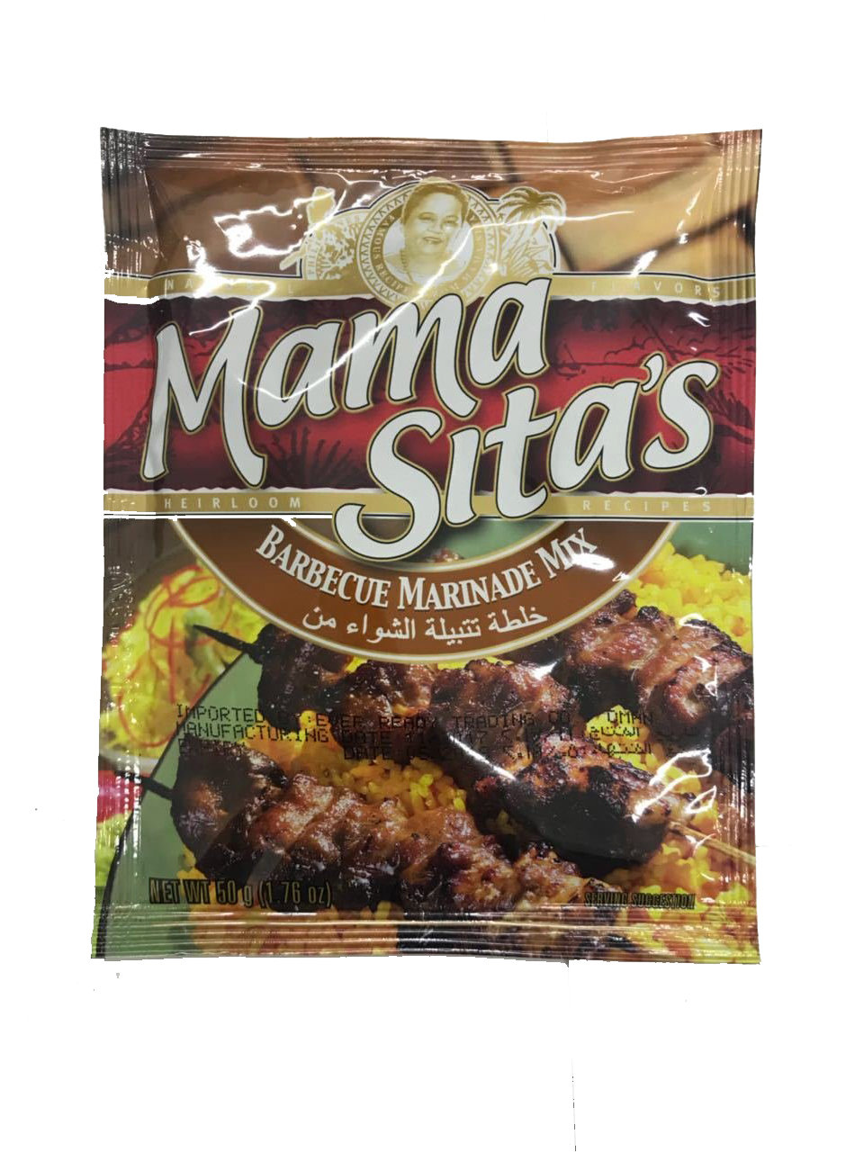 Mama Sitas Barbecue Marinade Mix 50g