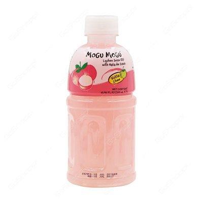 Mogu Mogu Lychee Flavored Drink with Nata De Coco