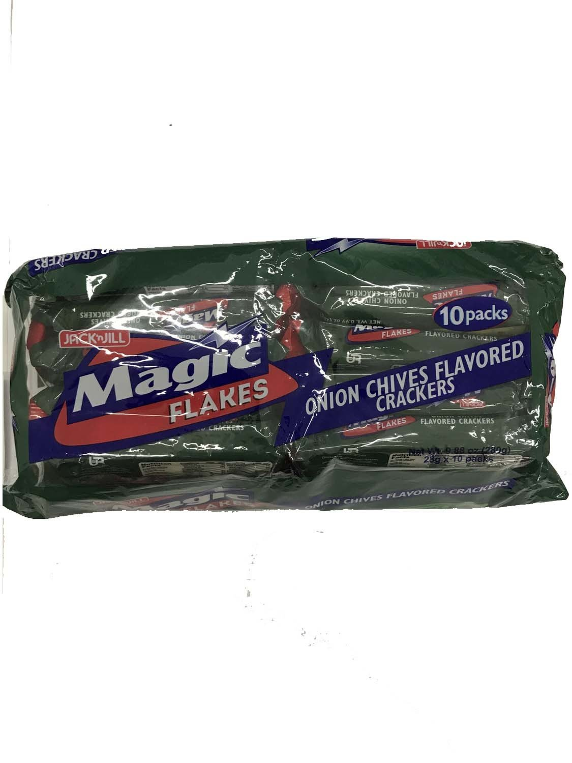 Magic Flakes Onion Chives Flavored Crackers