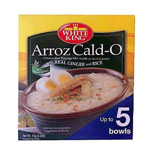 White King Arroz Caldo Chicken Rice Porridge Mix 113g