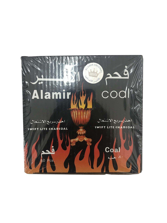 Alamir Coal Swift Light Charcoal 80pc