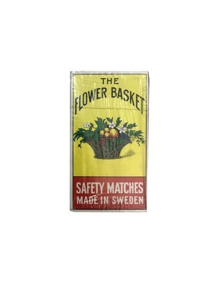 The Flower Basket Safety Matches