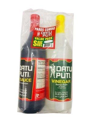 Datu Puti Soy Sauce & Vinegar Value Pack