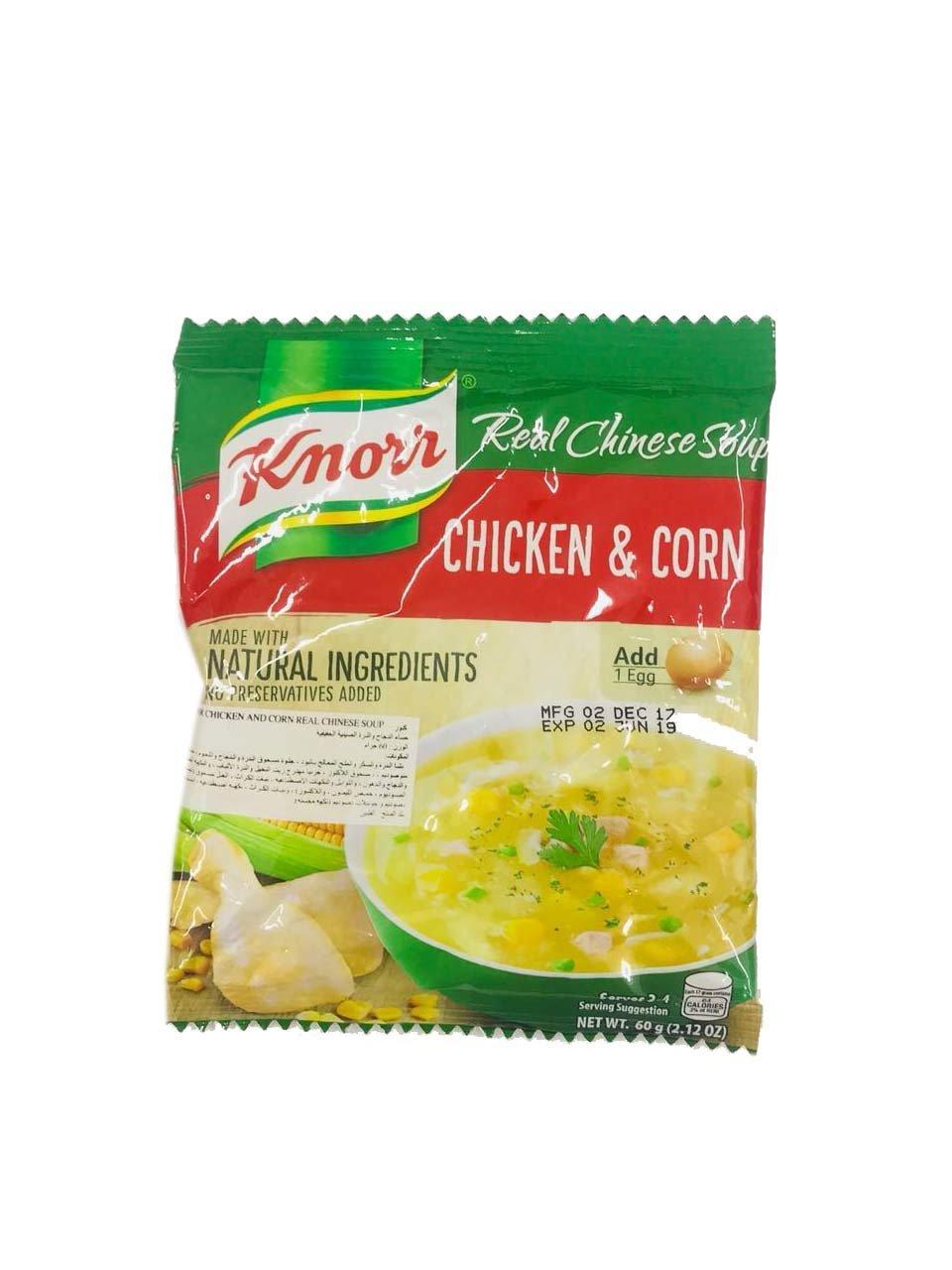 Knorr Chicken & Corn Soup 60g