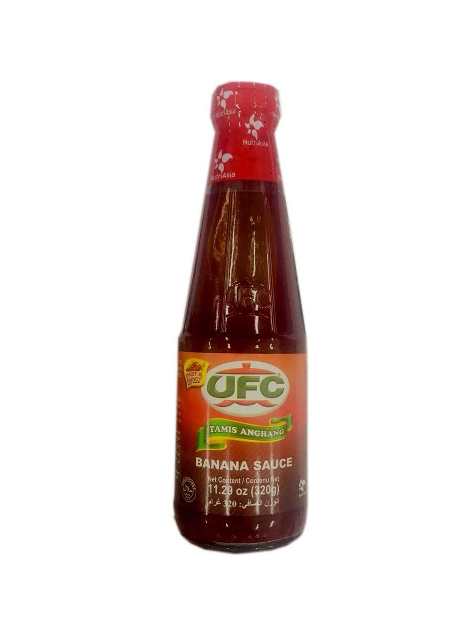 UFC Banana Sauce Tamis(hot & spicy) Anghang 320g