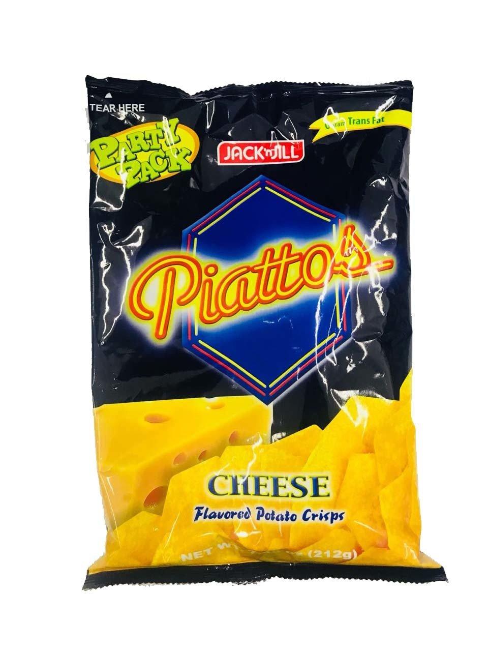 Piattos Cheese Flavored Potato Crisp 212g