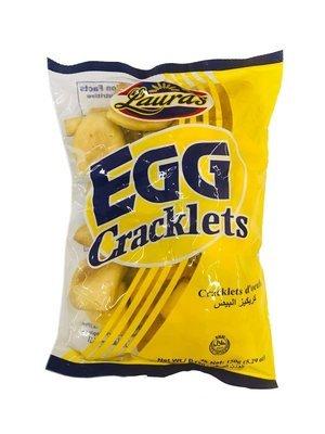 Lauras Egg Cracklet 150g