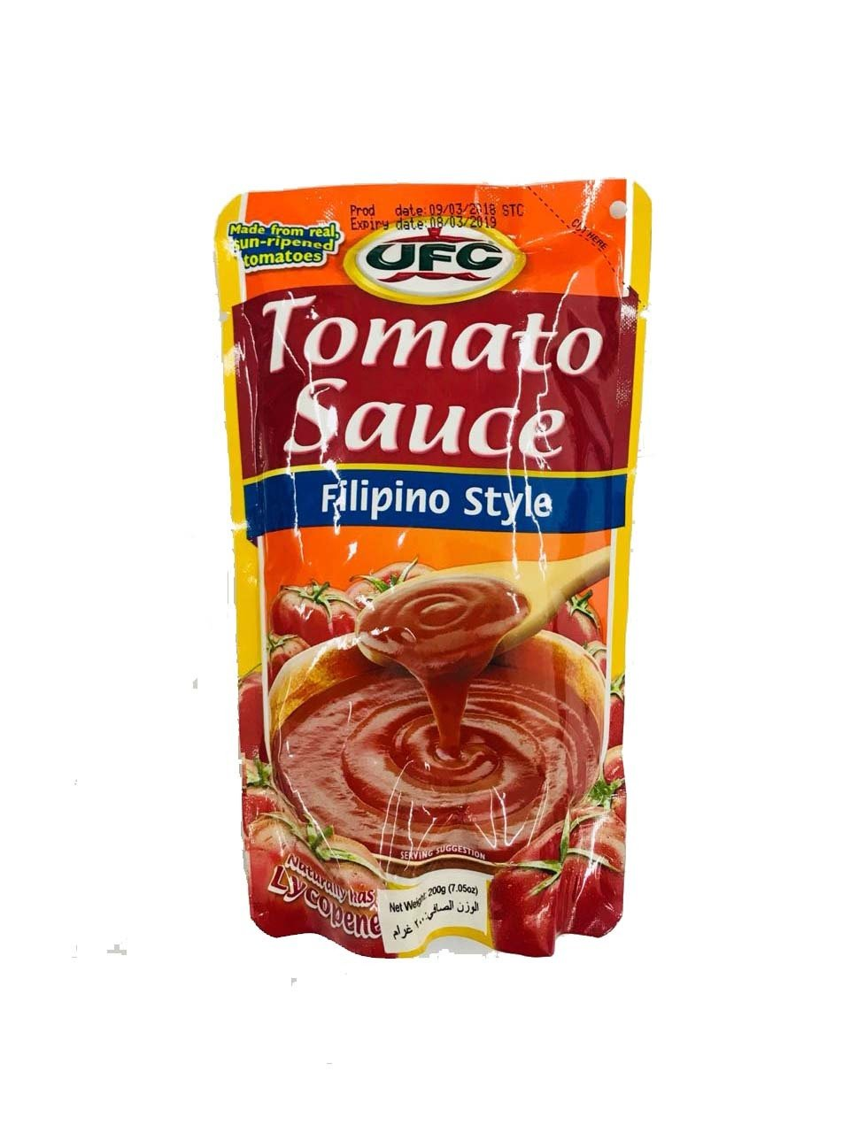 UFC Tomato Sauce Filipino Style 200g