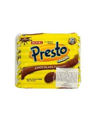 Jack n Jill Presto Creams Chocolate 300g