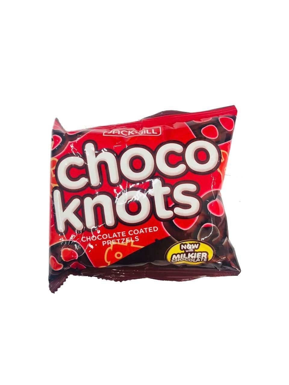 Choco Knots Chocolate Coated Pretzels 28g