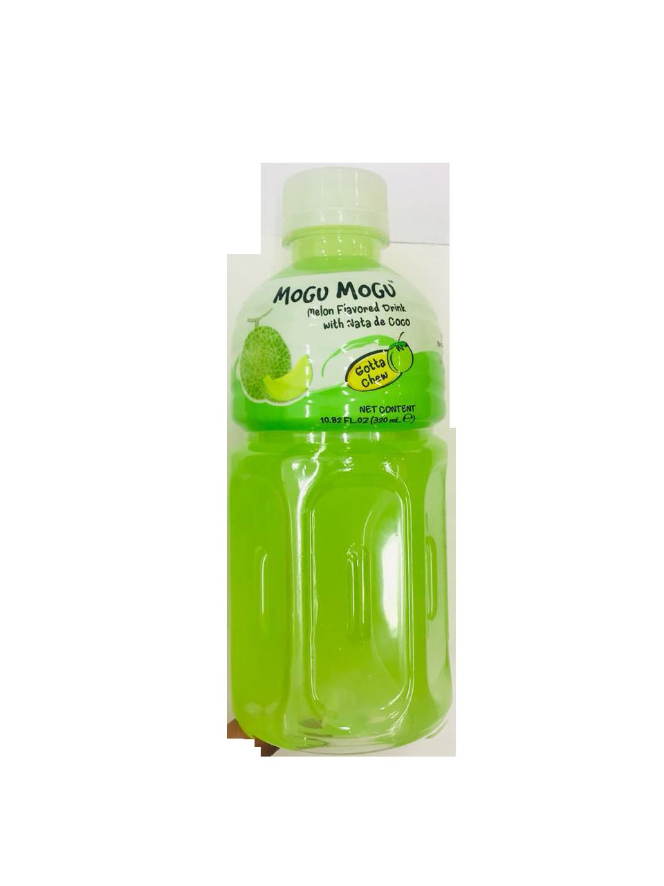 Mogu Mogu Melon Flavored Drink with Nata De Coco 320ml