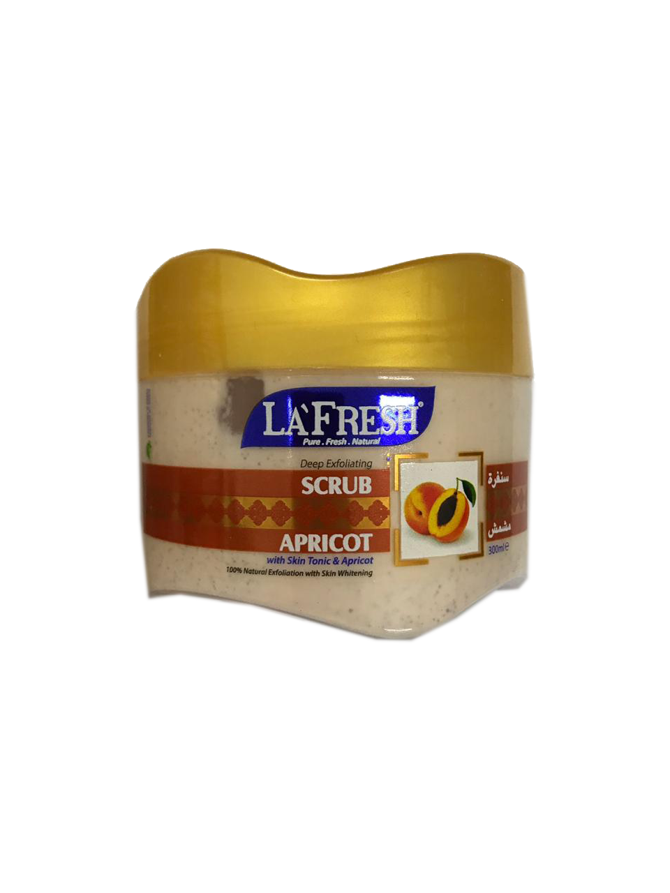 La Fresh Scrub Apricot 300ml
