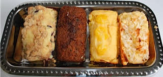 Set of 3 Mini-Loaf Cakes