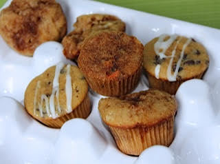 Assorted 12-Pack Mini Muffins - 4 Flavors