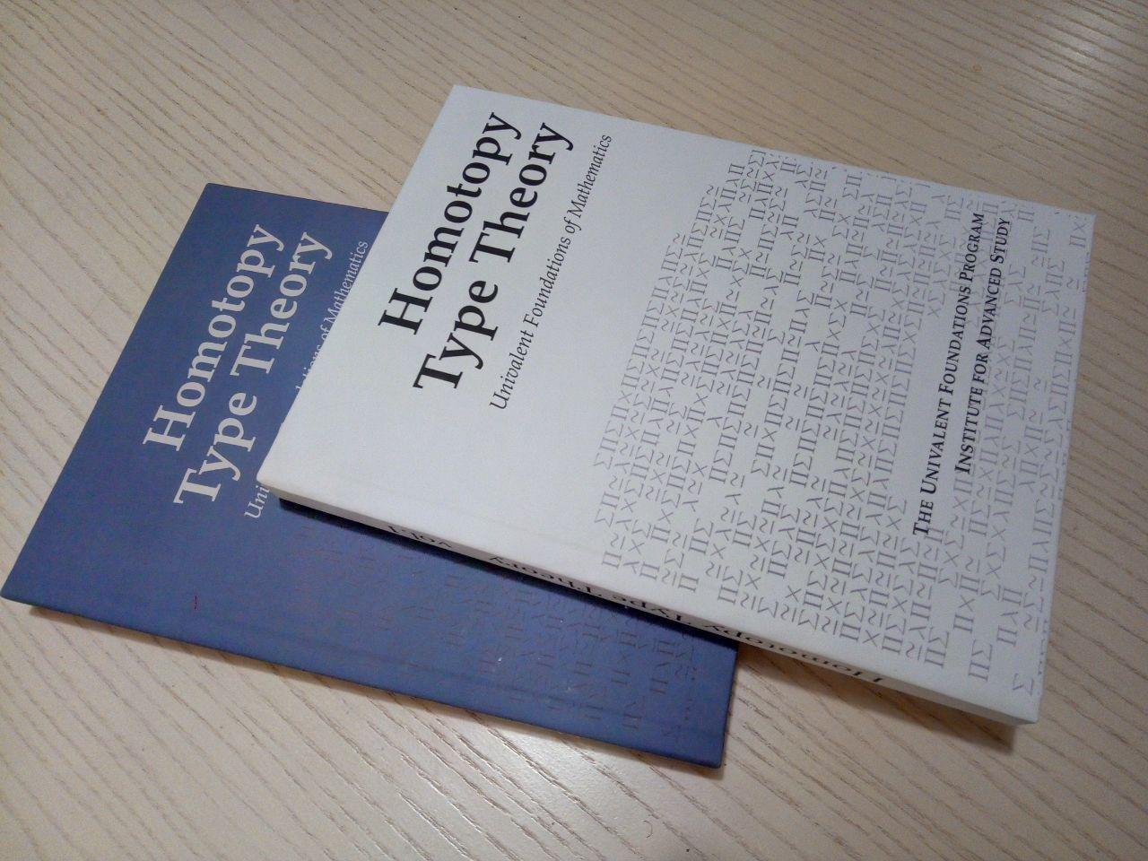 Homotopy Type Theory (HoTT) Vol. 1, 2