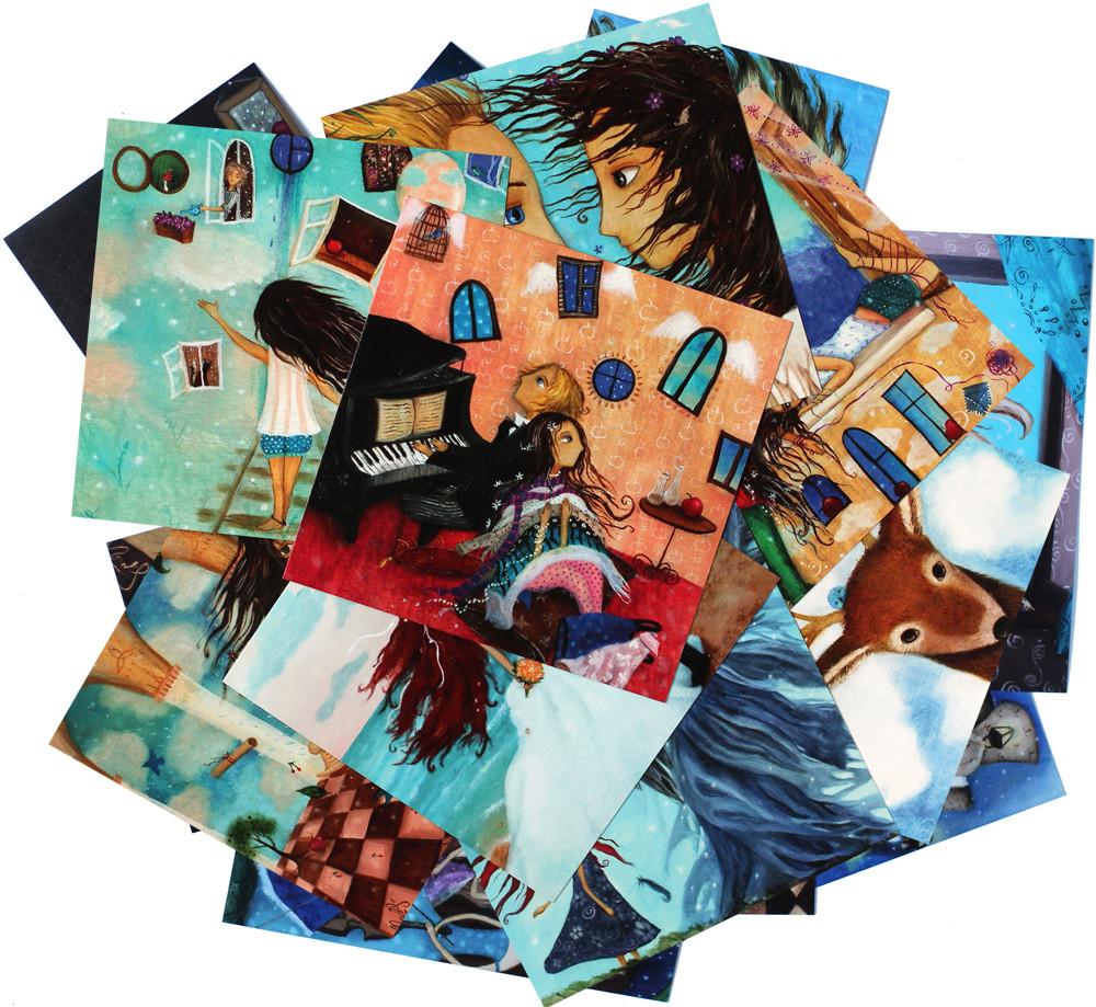 Мрії (набор из 24 открыток)