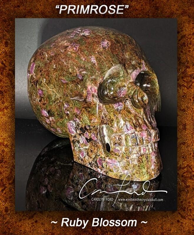 Ruby Blossom Skull
