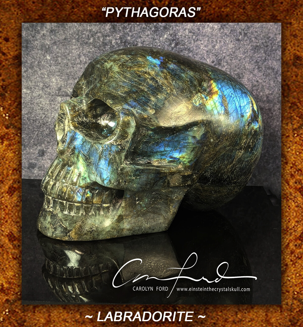 Labradorite, EINSTEIN Imprinted,