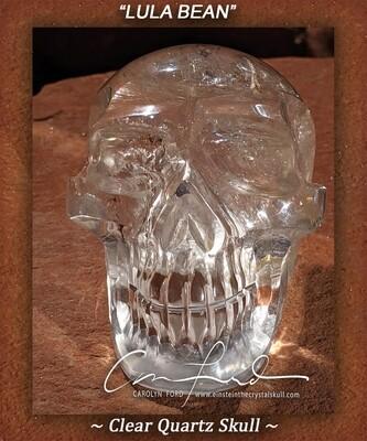 Clear Quartz Crystal, Einstein Imprinted