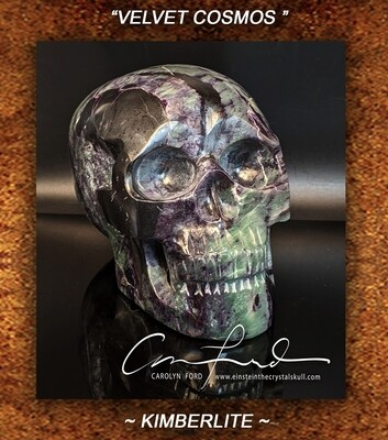 KIMBERLITE Skull, Einstein Imprinted