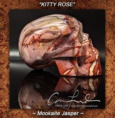 MOOKAITE JASPER, Einstein Imprinted, Australian Aboriginal Healing Stone