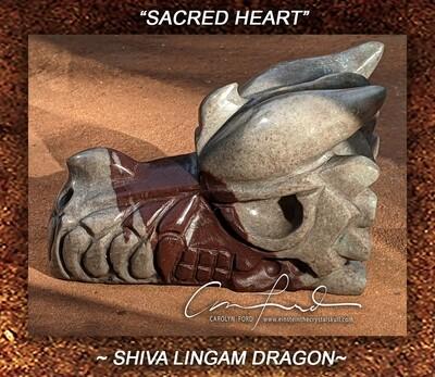SHIVA LINGAM DRAGON, Einstein Imprinted ~