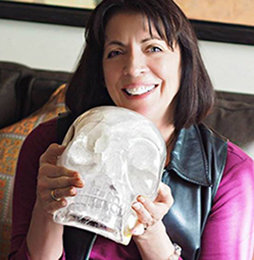 ZOOM Session with Carolyn Ford and Einstein the Ancient Crystal Skull - 60 Minute Session