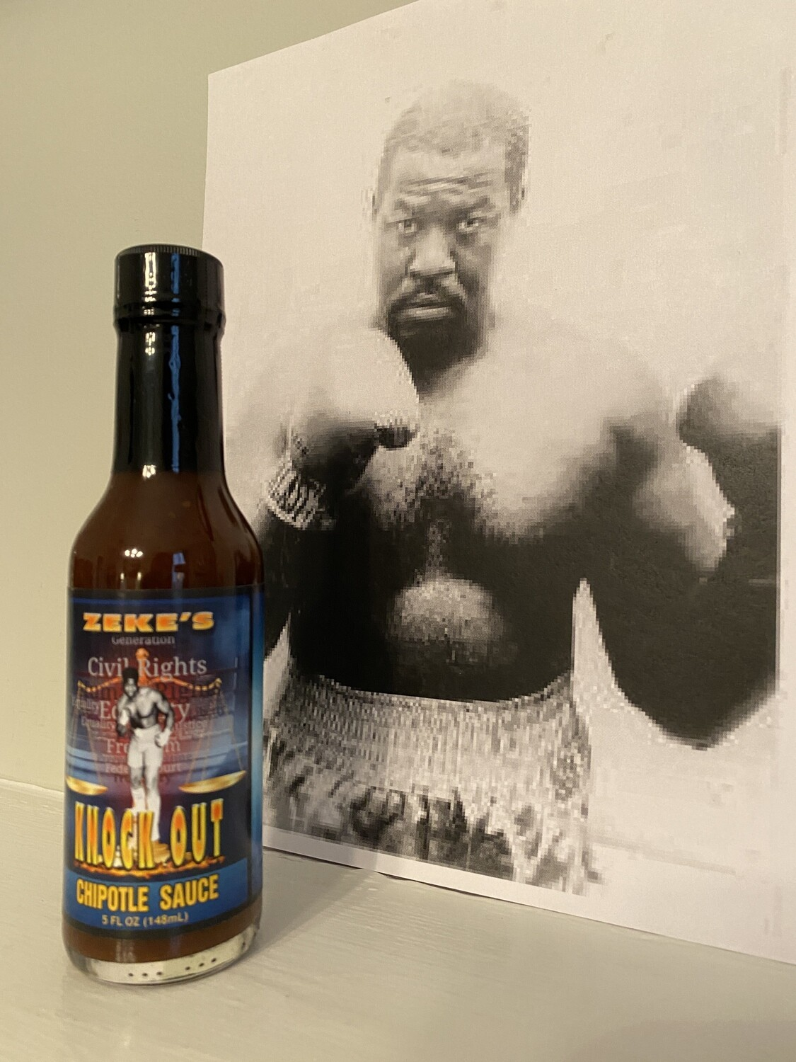 Zeke's Knock Out Hot Sauce